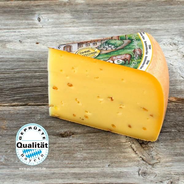 Ettaler Bockshornklee Käse, mindestens 480g (2,35€ / 100g), geliefert in 2 Stck. zu je ca. 240g