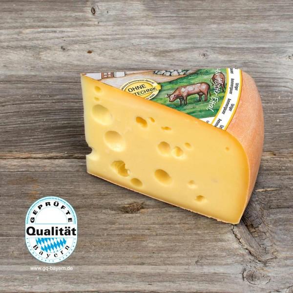Uriger Ammergauer Käse, mindestens 480g (2,11€ / 100g), geliefert in 2 Stck. zu je ca. 240g